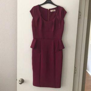ASOS Peplum Dress size 10